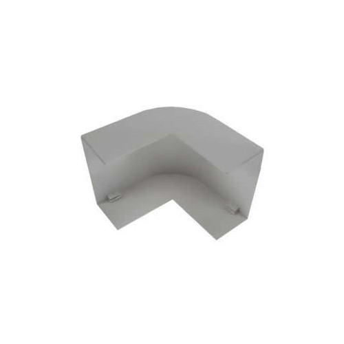Dietzel Univolt 100 x 50mm PVC Maxi Trunking Fitting White Moulded External Angle (Each)