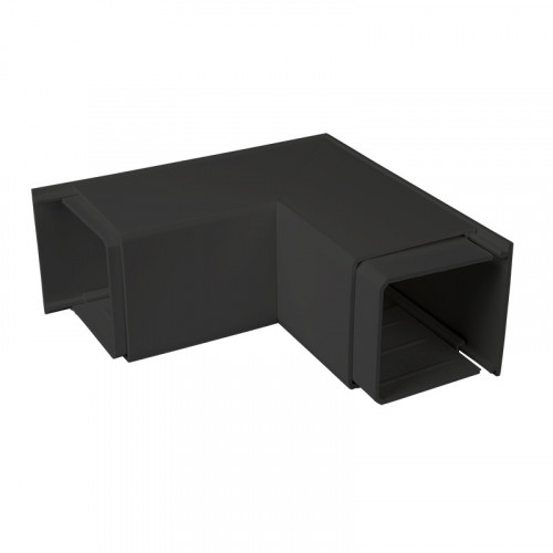 CMW Ltd  | Black Fabricated External Angle 75 x 75