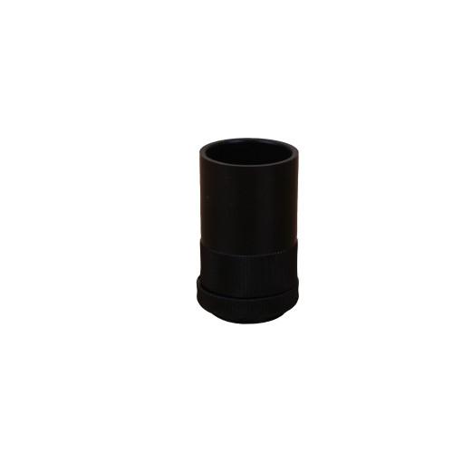 Dietzel Univolt Plastic Conduit Fittings AMT/LR25B   25mm Black Male Adaptors