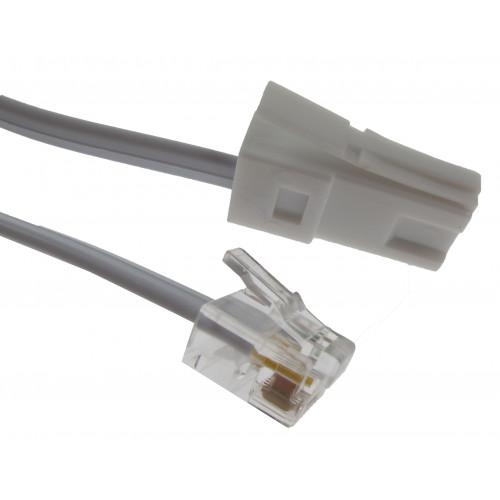 2m BT-RJ11 Modem Cable (Each)
