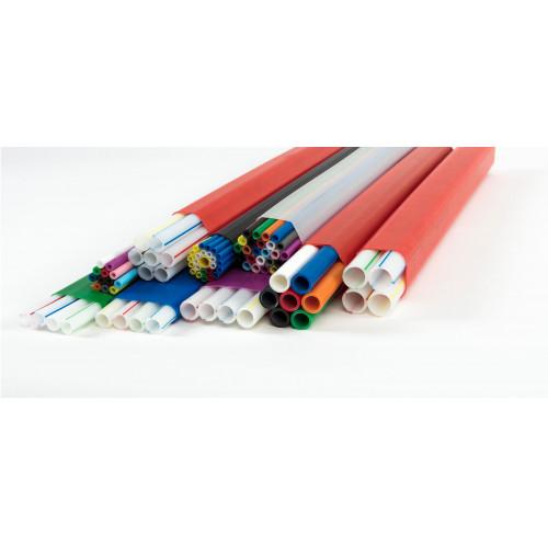 8 way 7 x 8-5mm & 1 x 10-6mm External/Duct/Direct Install Grade Blown FibreTube