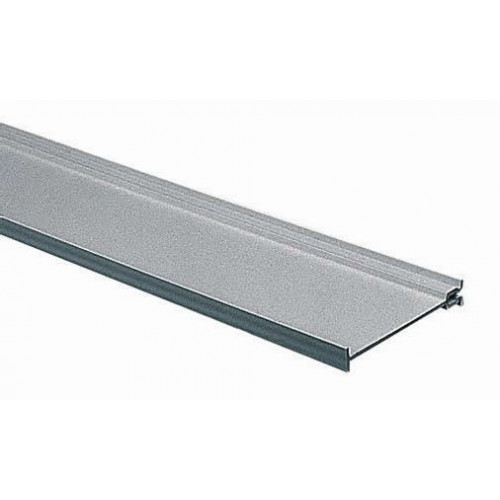 Marshall-Tufflex  MDFS100 | Marshall Tufflex 100mm PVC Maxi Trunking White Dividing Fillet 3m length (3m lgth)