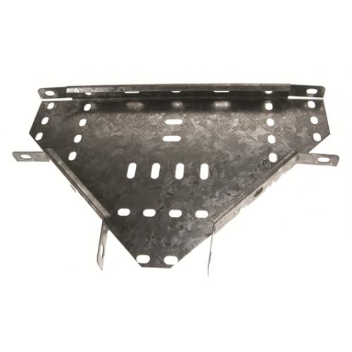 METSEC CTET25/0050PG | 50mm Medium Flat Cable Tray Tee Pre Galv