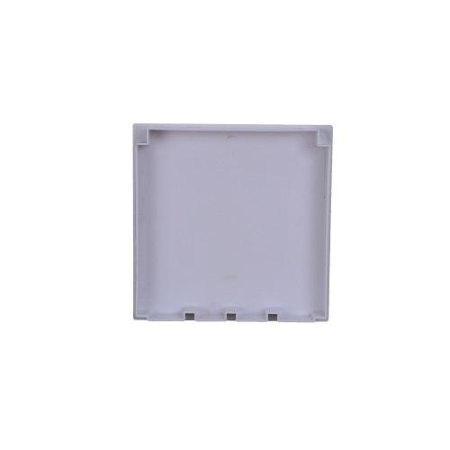 CMW Ltd, Plastic Cable trunking Dietzel Univolt uPVC, Maxi Trunking | 150mm x 150mm End Cap