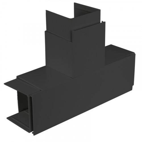 CMW Ltd  | Black Fabricated 100 x 100 Flat Tee