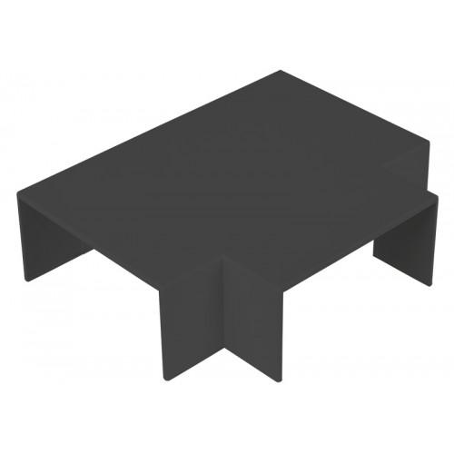 CMW Ltd  | Black Clip-on 100 x 50 Flat Tee