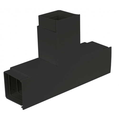 CMW Ltd  | Black Fabricated Flat Tee 75 x 75