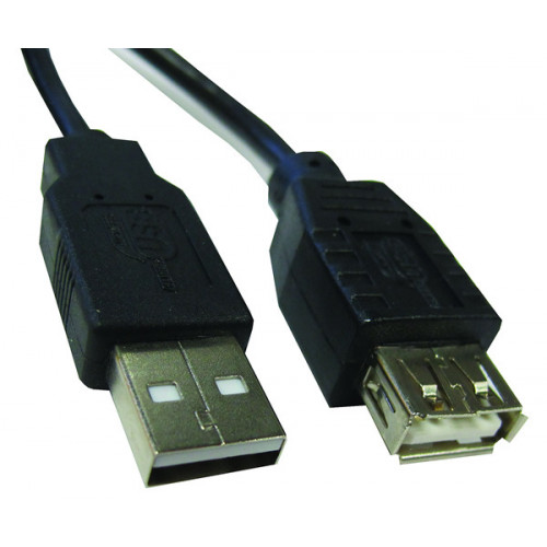 CMW Ltd  | 1m USB2.0 Type A (M) to Type A (F) Extension Cable