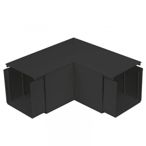 CMW Ltd  | Black Fabricated 100 x 100 Flat Angle