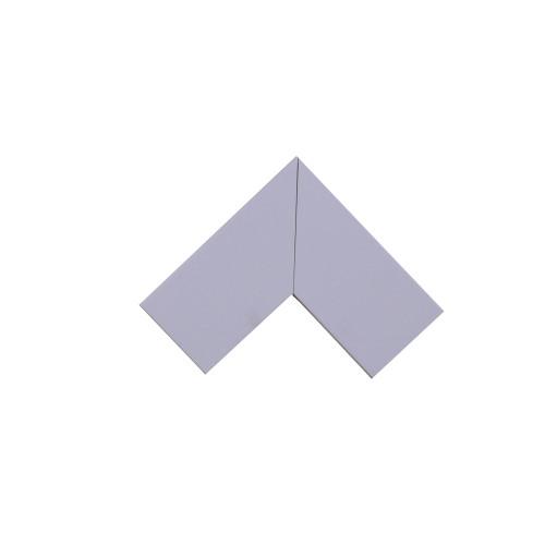 Univolt MFW50/100 | Dietzel Univolt 100 x 50mm PVC Maxi Trunking Fitting White Fabricated Flat Angle