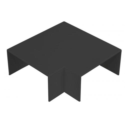 CMW Ltd  | Black Clip-on 100 x 50 Flat Angle