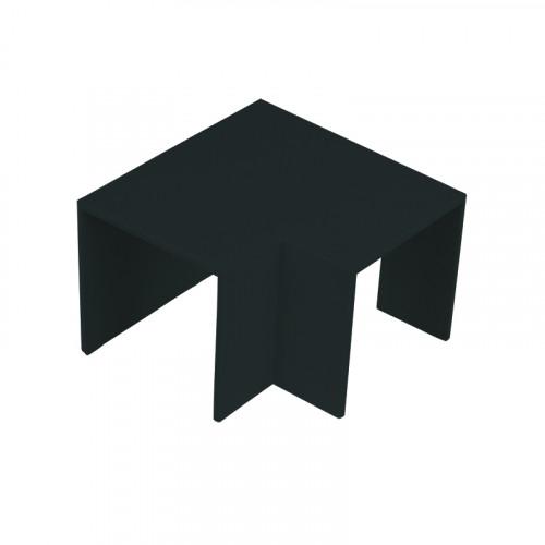 CMW Ltd  | Black Clip-on Flat Angle 50 x 50
