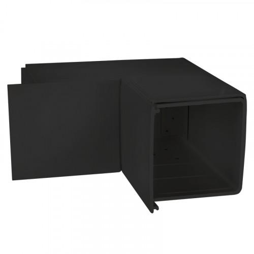 CMW Ltd  | Black Fabricated 100 x 100 Internal Angle