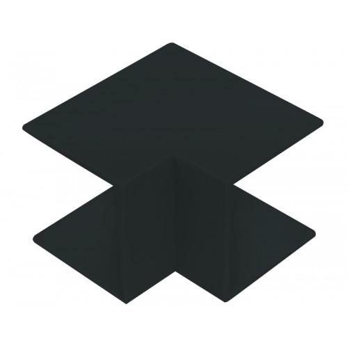CMW Ltd  | Black Clip-on Internal Angle 50 x 50