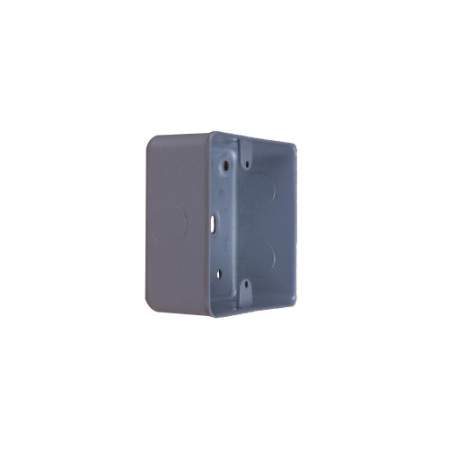 CMW Ltd  | MK Single Gang Metal Surface Box
