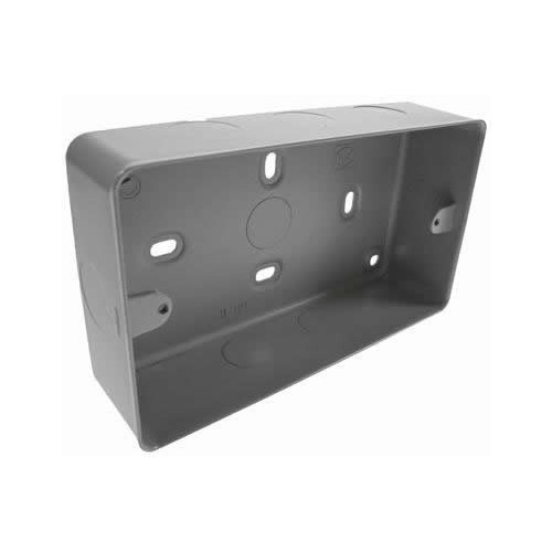 Double Gang Metal Surface Box (Each)