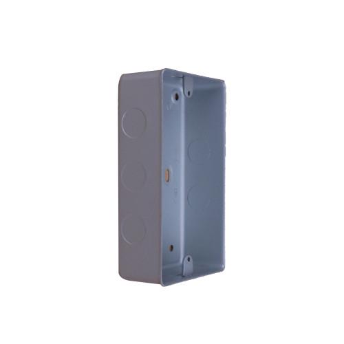 CMW Ltd  | MK Double Gang Metal Surface Box
