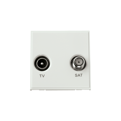 White TV & Satellite Module (Each)