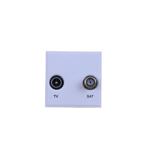 White TV & Satellite Module (Each)