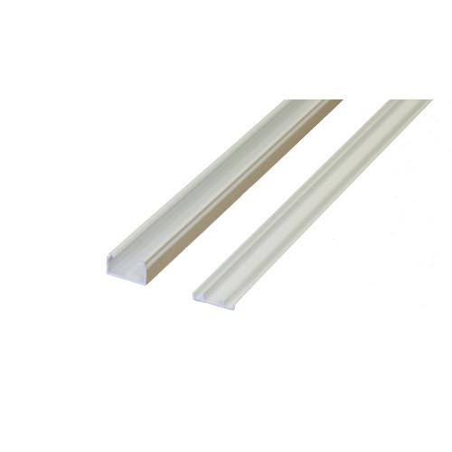 Marshall-Tufflex  MMT2WH | Marshall Tufflex 25mm x 16mm Standard PVC Mini Trunking White 3m length (3m lgth)