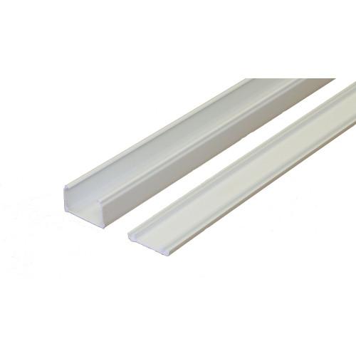 Marshall-Tufflex  MMT4WH   Marshall Tufflex 38mm x 25mm Standard PVC Mini Trunking White 3m length  (3m lgth)