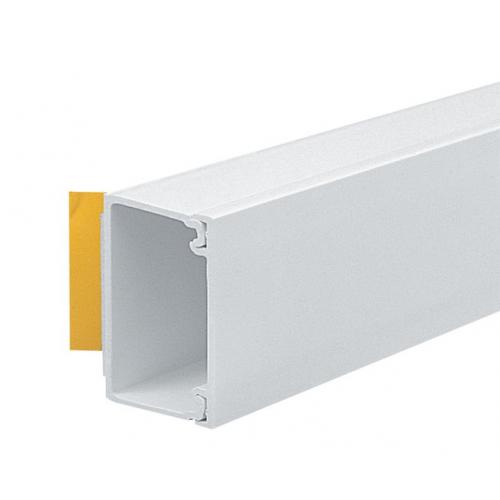 Marshall-Tufflex  MMT4SFWH | Marshall Tufflex 38mm x 25mm Self Adhesive PVC Mini Trunking White 3m length  (3m lgth)