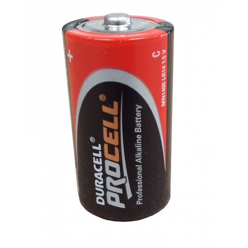 CMW Ltd  | C 1.5v Duracell Procell Batteries Box 10 (Box / 10)