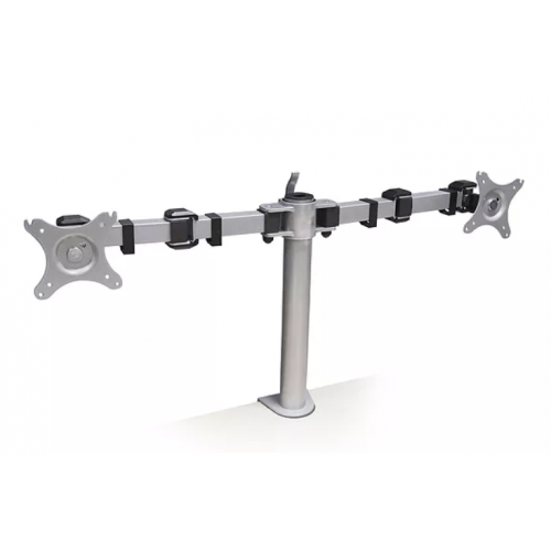 CMW Ltd  | Algar Double Monitor Arm VESA 75/100 - Grey