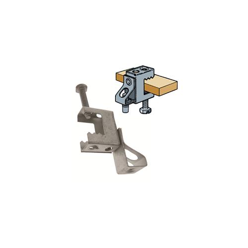 Walraven Britclips  EM53420617   Britclips Support Steel Master Clamp Threaded Rod Hanger for 6mm Rod