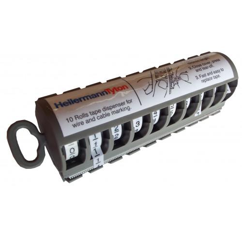 HellermannTyton MT1 | Hellermann Tyton MT1 Cable Marker Number Dispenser 0-9 5mm x 2.7m