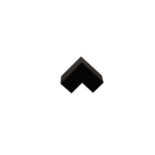 Dietzel Univolt Black Plastic Trunking MT25EABK | Black 25mm x 16mm External Angle