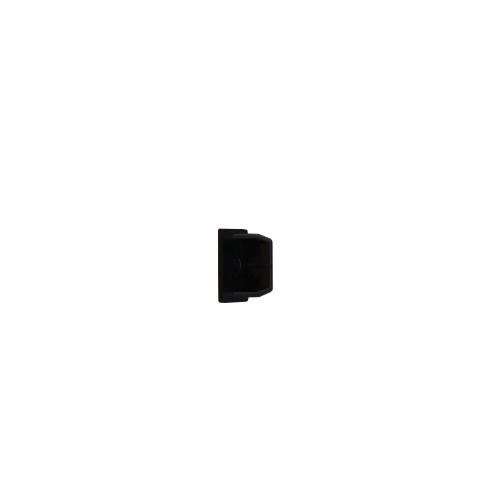 Dietzel Univolt Black Plastic Trunking MT25ECBK | Black 25mm x 16mm End Cap