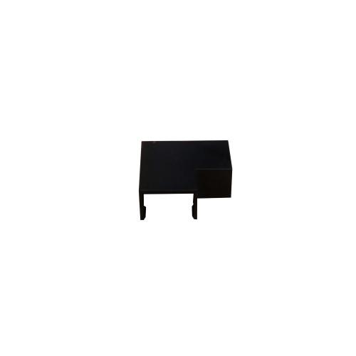 Dietzel Univolt Black Plastic Trunking MT25FABK | Black 25mm x 16mm Flat Angle