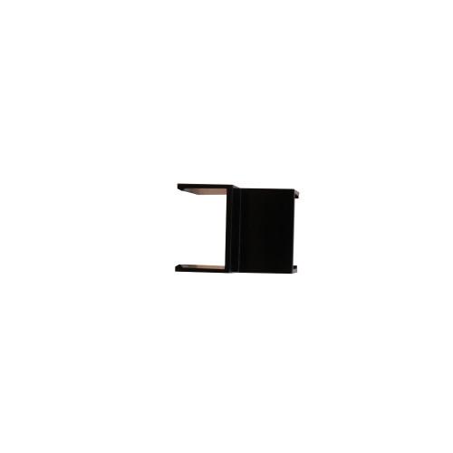Dietzel Univolt Black Plastic Trunking MT25IABK | Black 25mm x 16mm Internal Angle