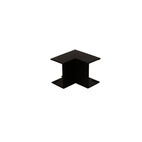 Dietzel Univolt Black Plastic Trunking FIA4BL | Black 40mm x 25mm Internal Angle