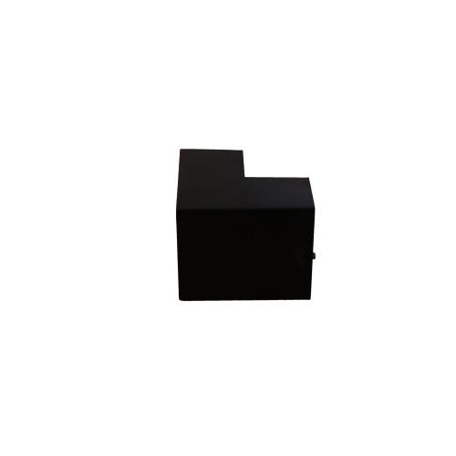 Dietzel Univolt Black Plastic Trunking FEA4BL | Black 40mm x 25mm External Angle