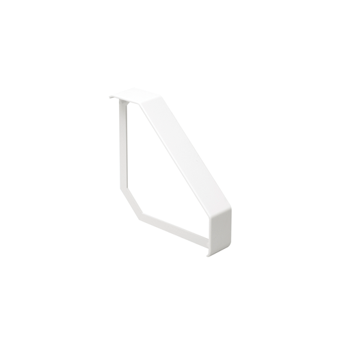 Marco Satin Anodised Aluminium White Bench Trunking Joint Cover (Each)