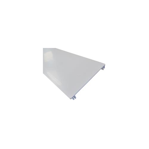 CMW Ltd  | Marco Apollo PVC White 3 Compartment Spare Centre Dado - Skiritng Trunking Lid 3m (3m lgth)