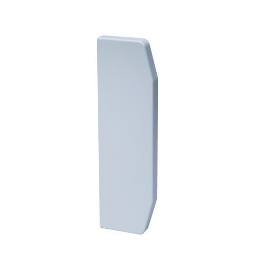 Marco Apollo PVC White 3 Compartment Dado - Skirting Trunking End Cap (Each)