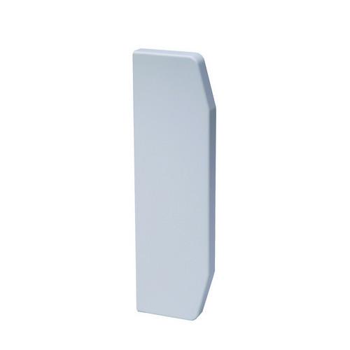 CMW Ltd  | Marco Apollo PVC White 3 Compartment Dado - Skirting Trunking End Cap