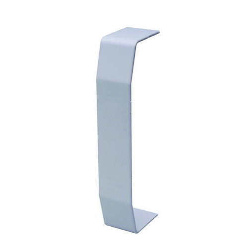 CMW Ltd  | Marco Apollo PVC White 3 Compartment Dado - Chamfer Trunking Joint Cover - Coupler