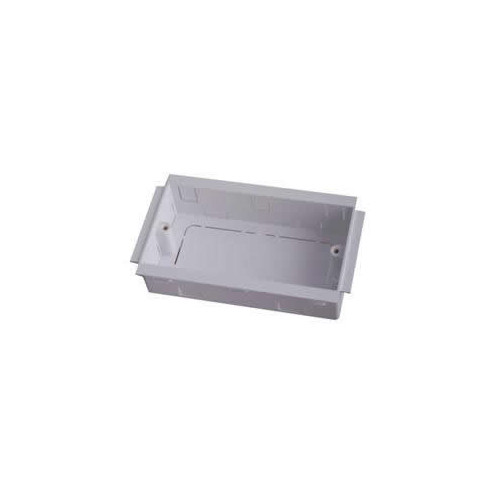CMW Ltd  | Marco Satin Anodised Aluminium White Double Gang Outlet Boxes