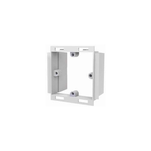 Marco PVC White Single Gang Dado Trunking Accessory Frame (Each)