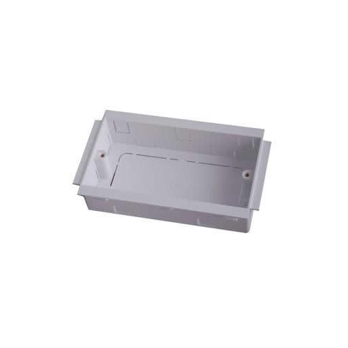 Marco PVC Dado - Skirting 35mm Deep Double Gang Accessory Box (Each)