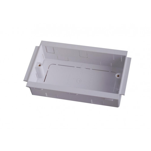 Marco PVC Dado - Skirting 25mm Deep Double Gang Accessory Box (Each)
