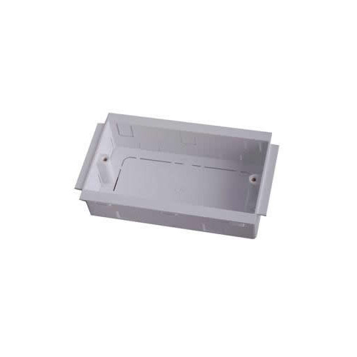 Marco PVC White 50mm Double Gang Trunking Accessory Box (Each)