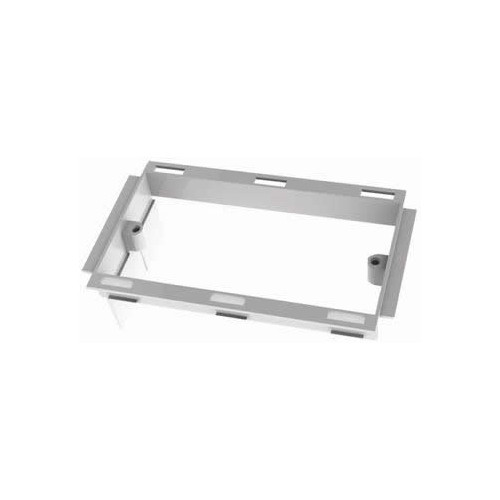 Marco PVC White Double Gang Dado Trunking Accessory Frame (Each)