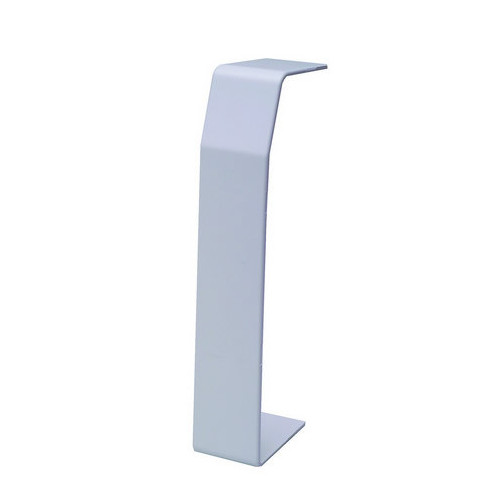 Marco Apollo PVC White 3 Compartment Dado - Skirting Trunking Joint Cover - Coupler (Each)