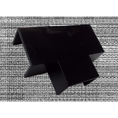 FFT4BL  | Black 40mm x 25mm Flat Tee