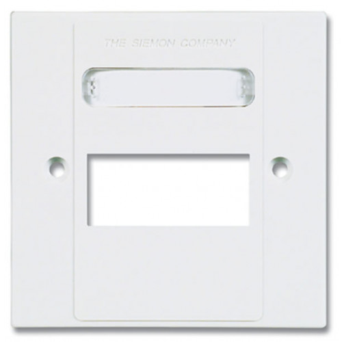 Siemon MX-BFP-S-03-02   Siemon 3 Port S/G Faceplate White